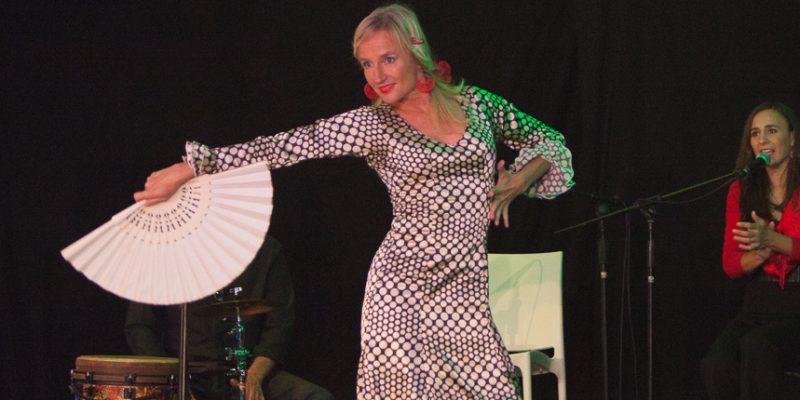 Flamenco optreden Mascha Meijman