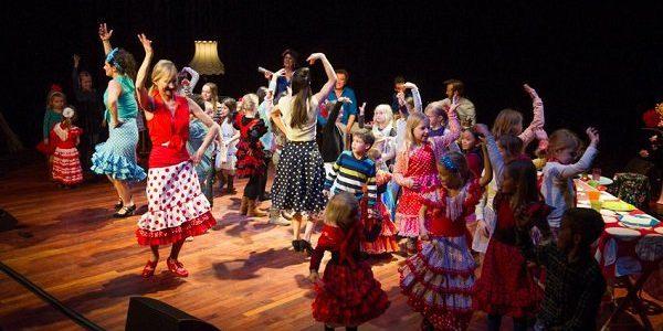 Flamenco verjaardagsfeest