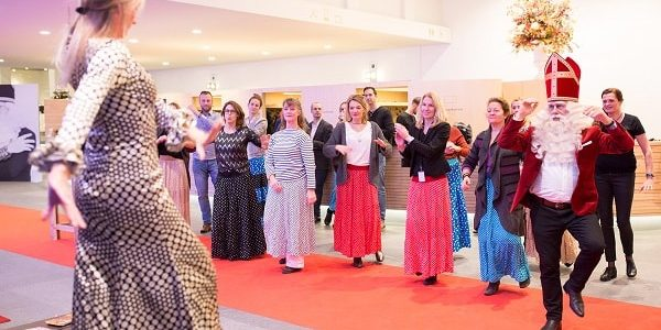 Sinterklaasfeest en flamenco