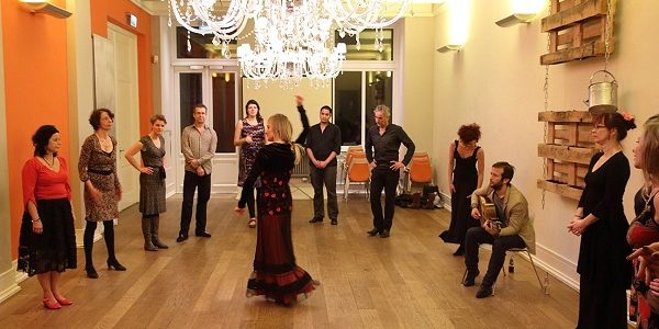 Flamenco workshop met Mascha Meijman van Masflamenco