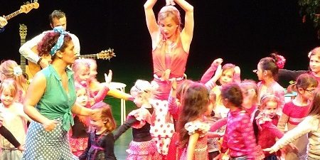 Flamenco kinderworkshop