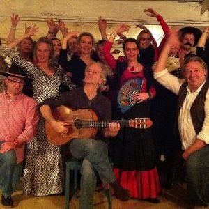 Bedrijfsfeest flamencoworkshop masflamenco.nl