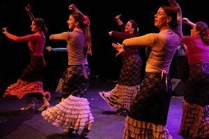 Dansles gevorderden flamenco