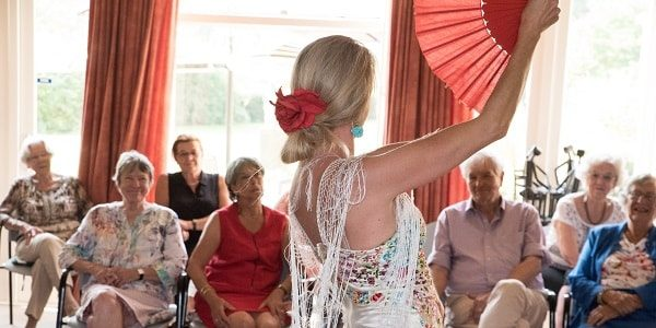 Flamenco-optreden