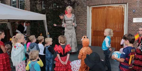 Kinderworkshop Flamenco Masflamenco.nl
