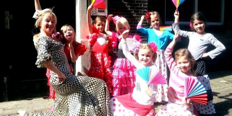 Flamencokinderfeest