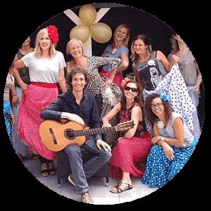 Flamenco vrijgezellenfeest